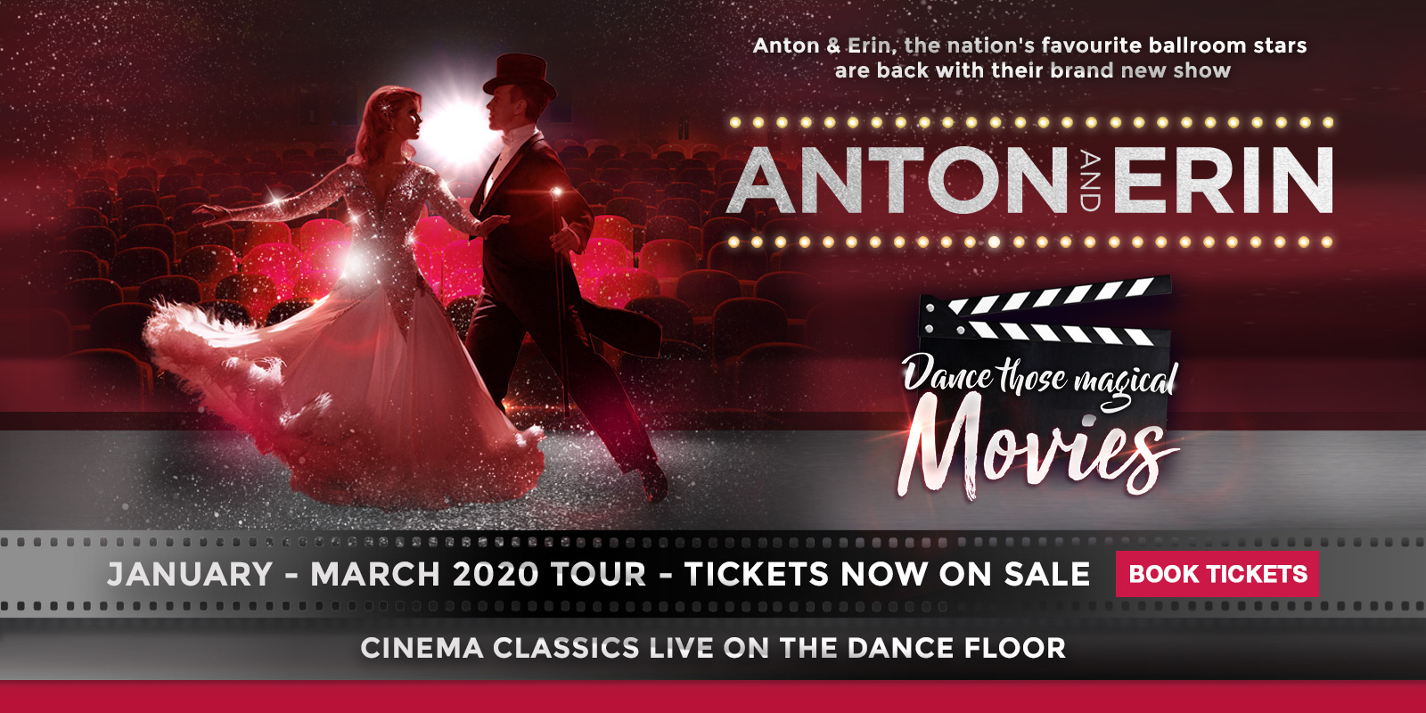 Dancing With The Stars Tour Dates 2020 Home   Anton and Erin Live